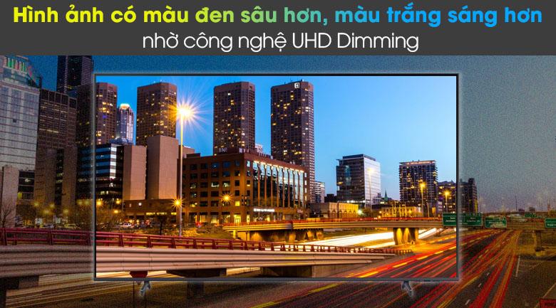 Tivi LED 4K Samsung UA55AU8100 - UHD