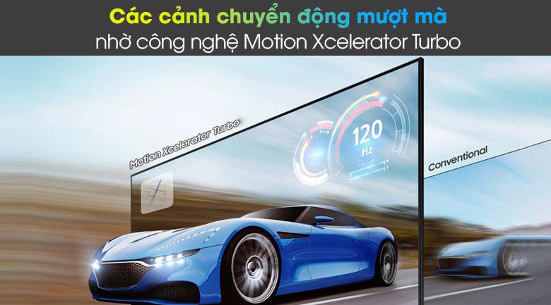 Tivi LED 4K Samsung UA55AU8100 - Motion Xcelertor