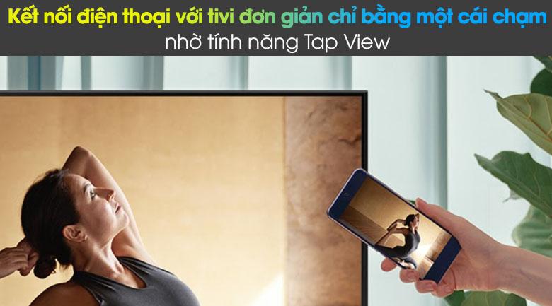 Tivi LED 4K Samsung UA55AU8100 - Tap View