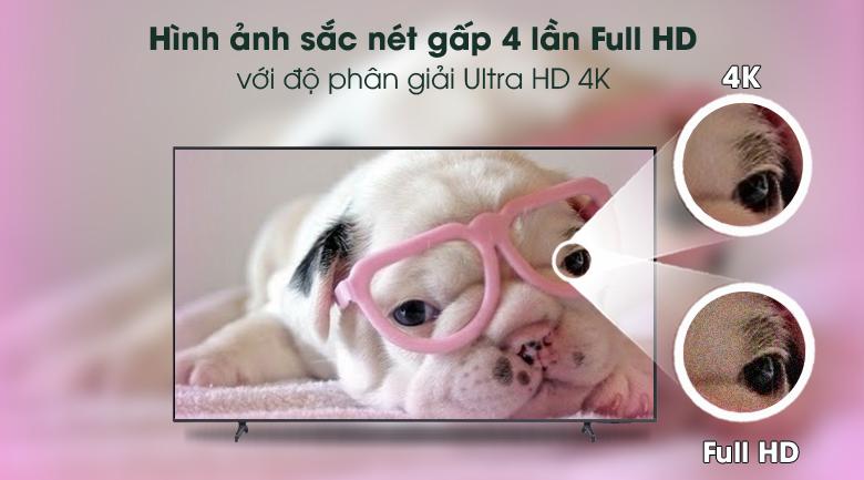 Ultra HD 4K - Smart Tivi Samsung 4K 60 inch UA60AU8100