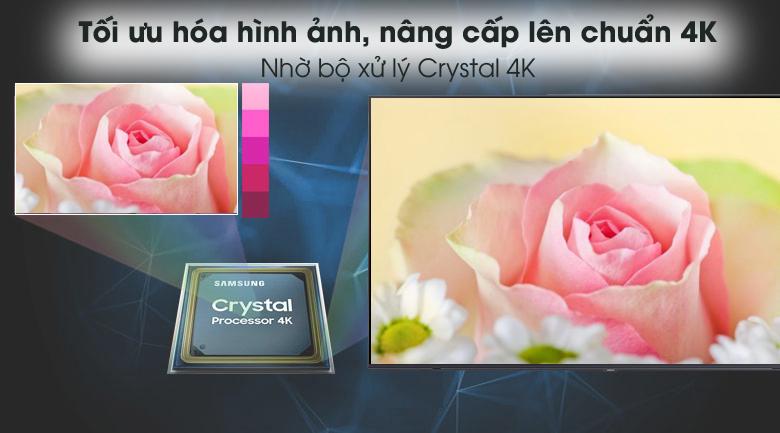 Crystal 4K - Smart Tivi Samsung 4K 60 inch UA60AU8100
