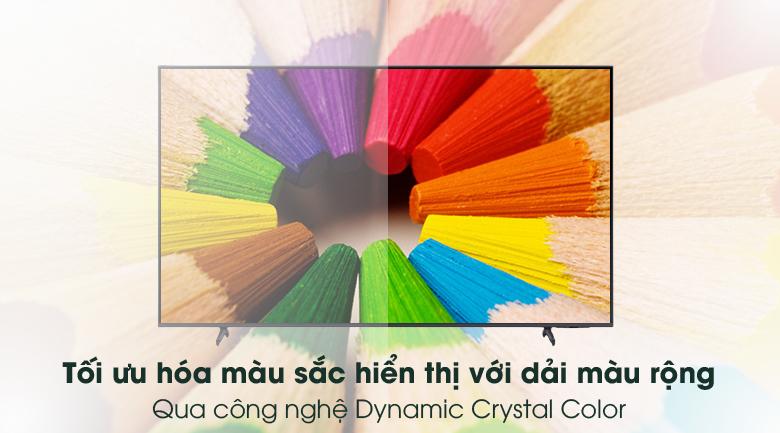 Dynamic Crystal Color - Smart Tivi Samsung 4K 60 inch UA60AU8100