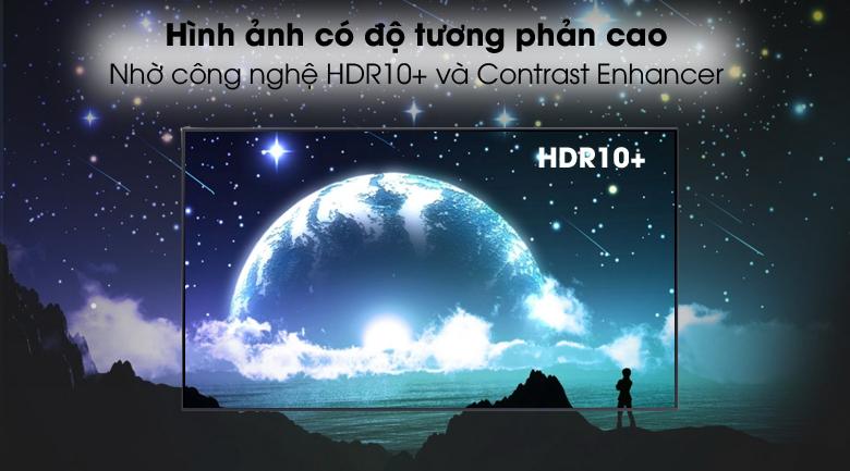 HDR10+ - Smart Tivi Samsung 4K 60 inch UA60AU8100
