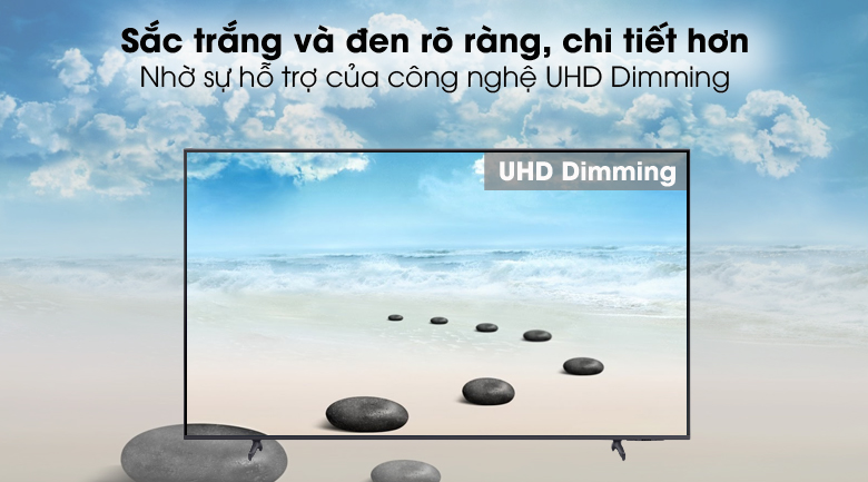 UHD Dimming - Smart Tivi Samsung 4K 60 inch UA60AU8100