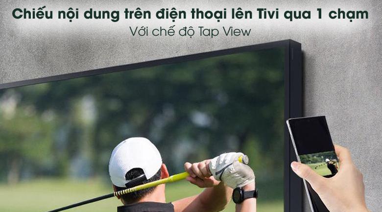 Tap View - Smart Tivi Samsung 4K 60 inch UA60AU8100