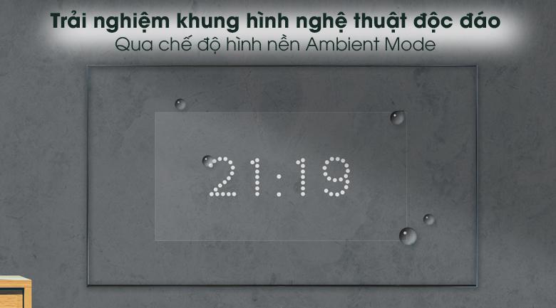 Ambient Mode - Smart Tivi Samsung 4K 60 inch UA60AU8100