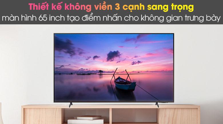Thiết kế - Smart Tivi Samsung 4K 65 inch UA65AU8100
