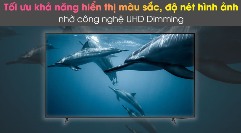 UHD Dimming - Smart Tivi Samsung 4K 65 inch UA65AU8100