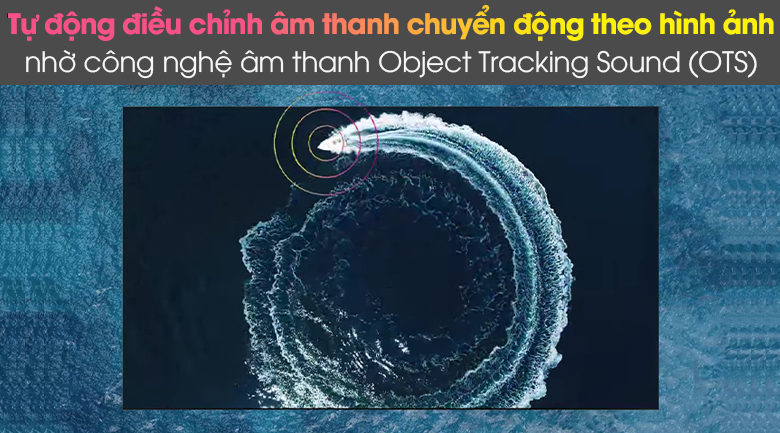 Object Tracking Sound (OTS) - Smart Tivi Samsung 4K 65 inch UA65AU8100