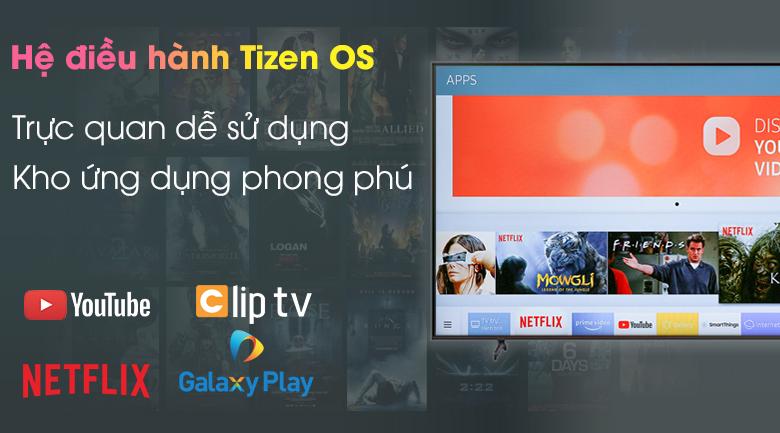 Hệ điều hành Tizen OS - Smart Tivi Samsung 4K 65 inch UA65AU8100