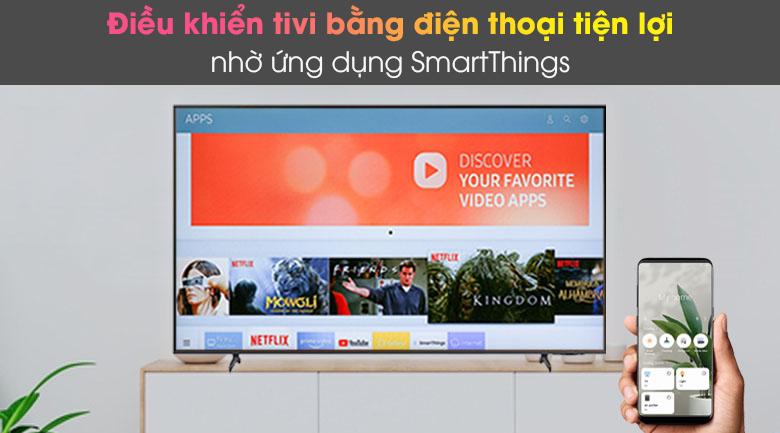 SmartThings - Smart Tivi Samsung 4K 65 inch UA65AU8100