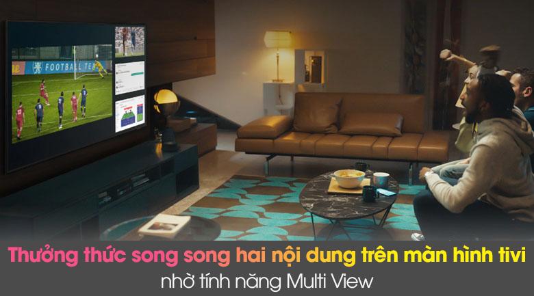 Multi View - Smart Tivi Samsung 4K 65 inch UA65AU8100