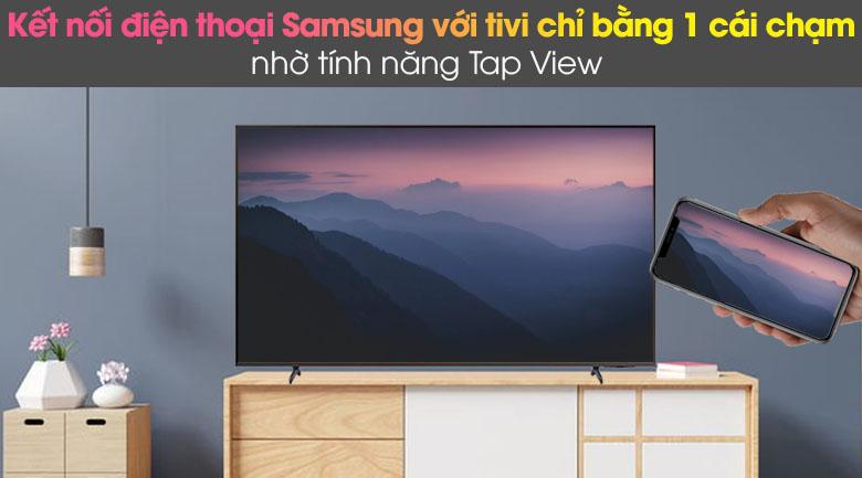 Tap View, AirPlay 2 và Screen Mirroring - Smart Tivi Samsung 4K 65 inch UA65AU8100