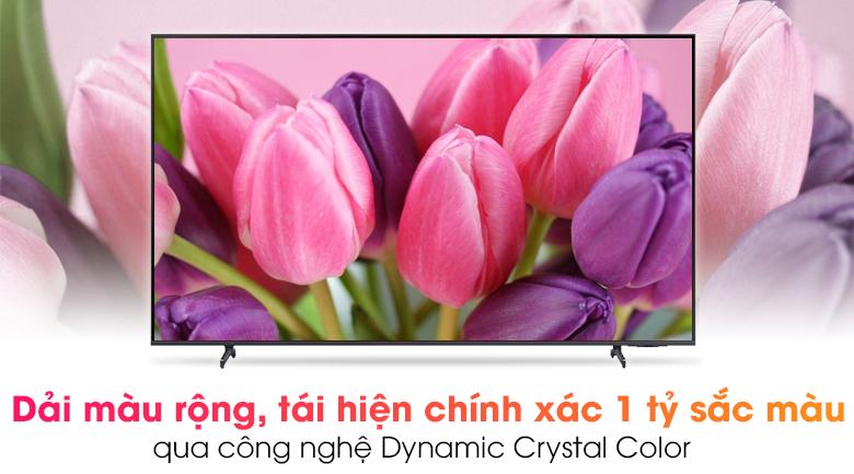 Smart Tivi Samsung 4K 70 inch UA70AU8100 - Tái tạo trọn vẹn 1 tỷ sắc màu cùng công nghệ Dynamic Crystal Color