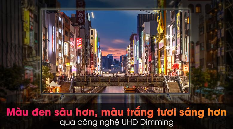 Smart Tivi Samsung 4K 70 inch UA70AU8100 - Cho sắc đen sâu thẳm, sắc sáng tinh khiết hơn qua công nghệ UHD Dimming