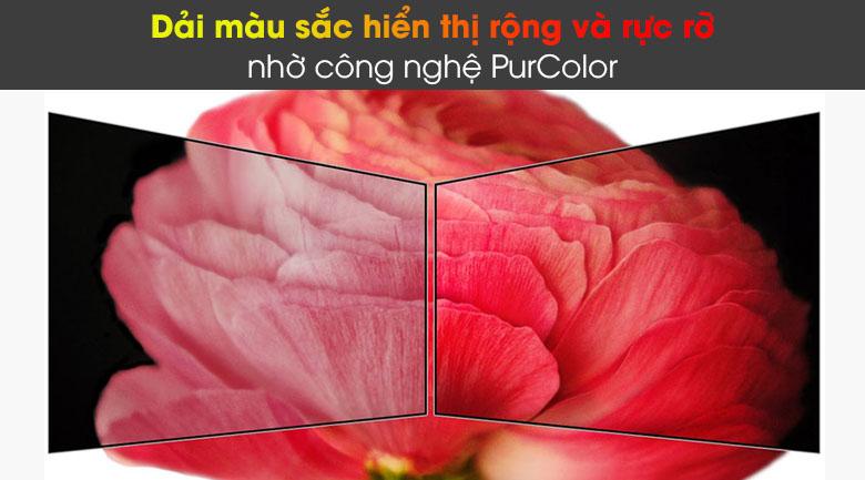 Tivi LED 4K Samsung UA75AU8100 - Purcolor