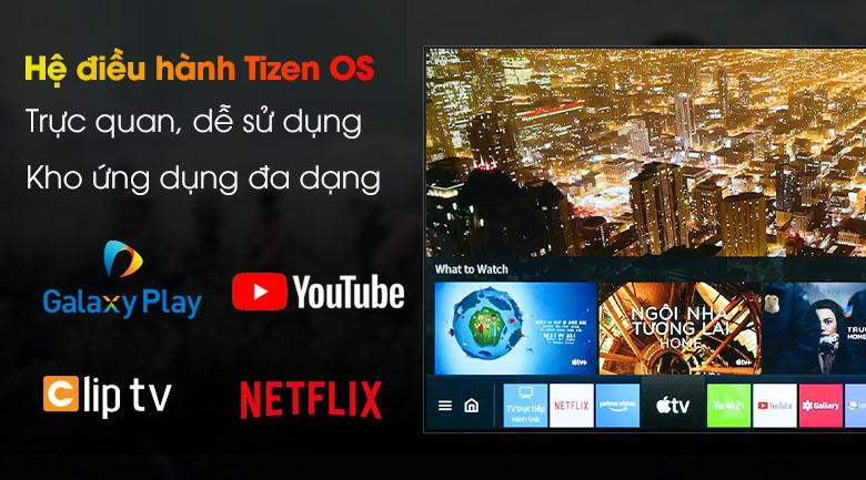 Tivi LED 4K Samsung UA75AU8100 - Tizen OS