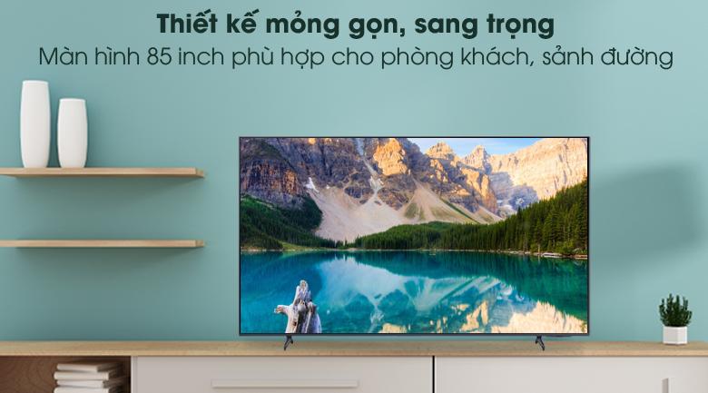 Sang trọng - Smart Tivi Samsung 4K 85 inch UA85AU8000