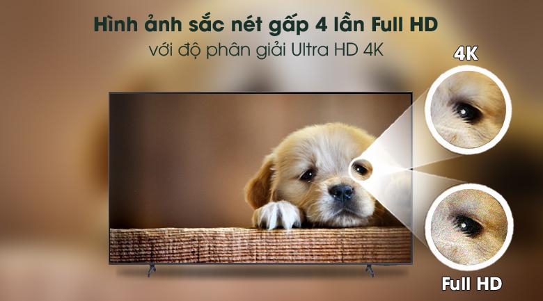 Ultra HD 4K - Smart Tivi Samsung 4K 85 inch UA85AU8000