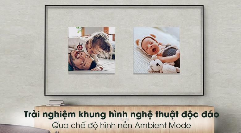 Ambient Mode - Smart Tivi Samsung 4K 85 inch UA85AU8000