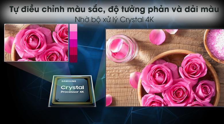 Crystal 4K - Smart Tivi Samsung 4K 85 inch UA85AU8000