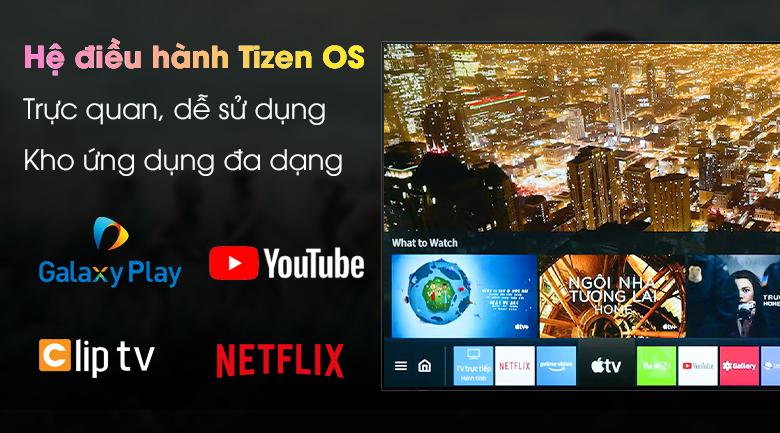 Hệ điều hành Tizen OS - Smart Tivi Samsung 4K 43 inch UA43AU7200
