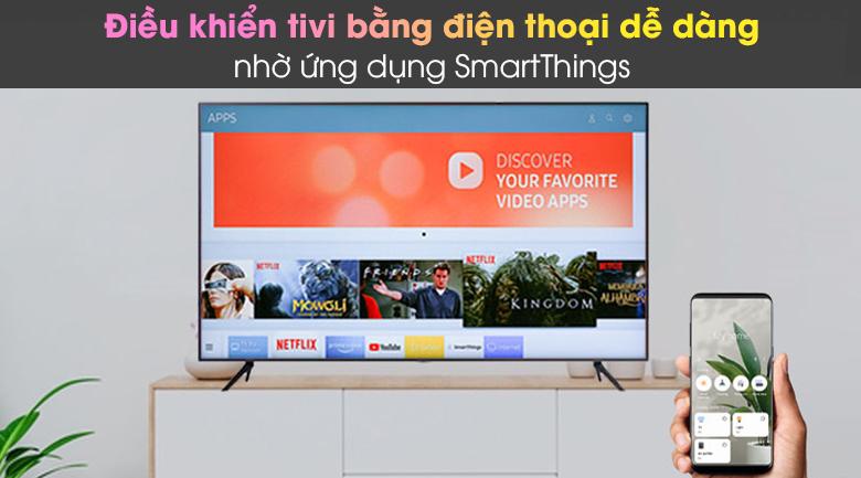 SmartThings - Smart Tivi Samsung 4K 43 inch UA43AU7200