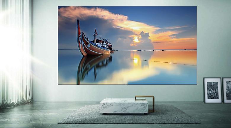 Smart Tivi Samsung 4K 55 inch UA55AU7200 - Thiết kế