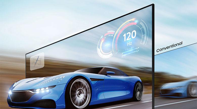 Smart Tivi Samsung 4K 55 inch UA55AU7200 - Motion Xcelerator