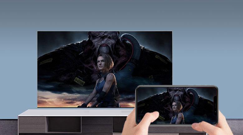 Smart Tivi Samsung 4K 55 inch UA55AU7200 - Chiếc màn hình