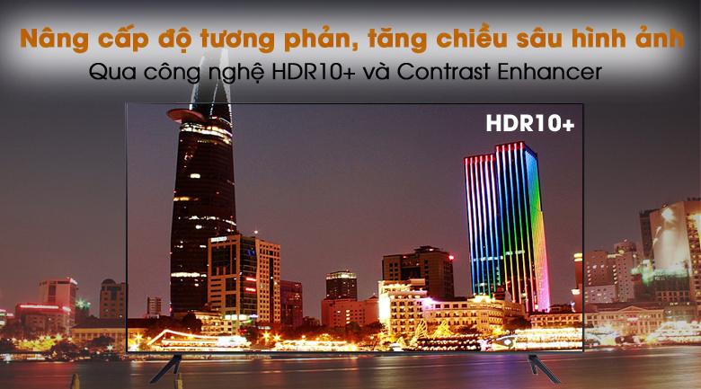 Tương phản cao - Smart Tivi Samsung 4K 65 inch UA65AU7200