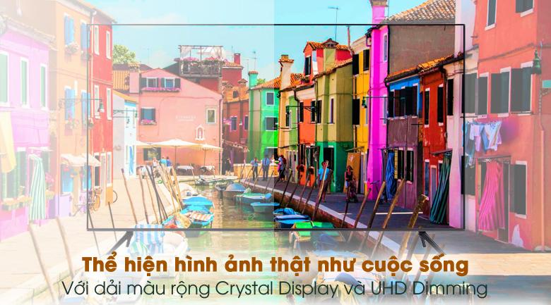 Dải màu rộng - Smart Tivi Samsung 4K 65 inch UA65AU7200