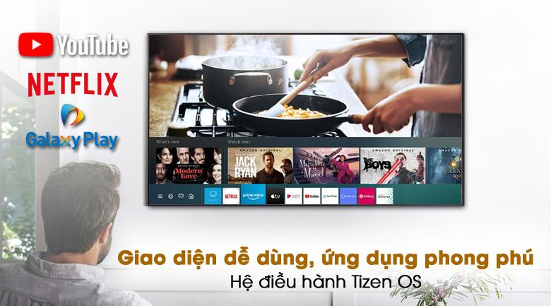 Tizen OS - Smart Tivi Samsung 4K 65 inch UA65AU7200