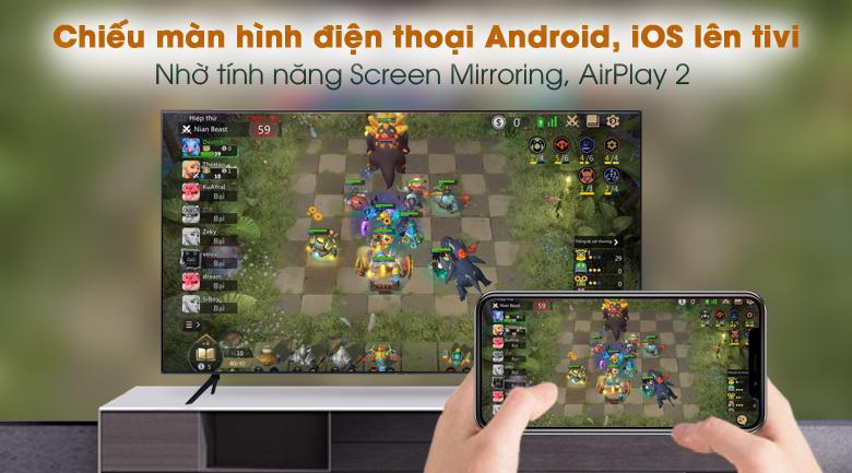 Airplay 2 - Smart Tivi Samsung 4K 65 inch UA65AU7200
