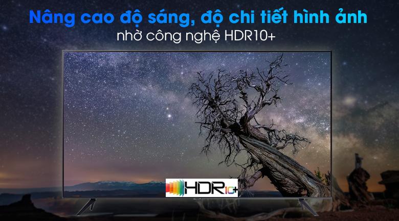 Smart Tivi Samsung 4K 75 inch UA75AU7000 - Tăng cường độ sáng, cho hình ảnh chi tiết hơn qua công nghệ HDR10+