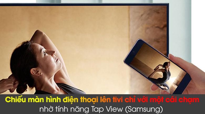 Smart Tivi QLED Samsung 4K 85 inch QA85Q60A - Tap View