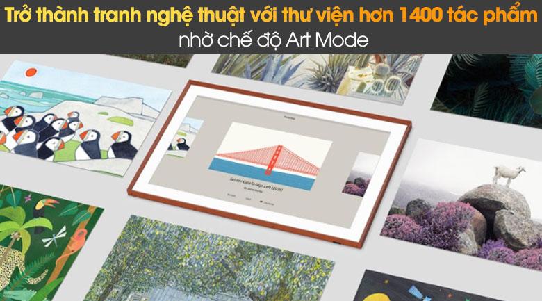 Smart Tivi The Frame QLED Samsung 4K QA55LS03A - Chế Độ Art Mode