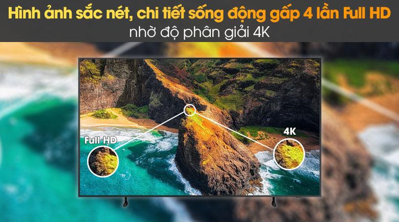 Tivi The Frame QLED 4K Samsung QA55LS03A - 4K