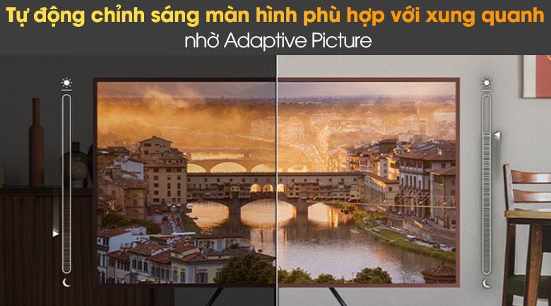 Tivi The Frame QLED 4K Samsung QA55LS03A - Adaptive Picture