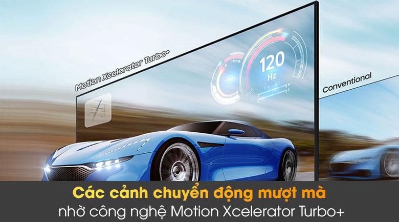 Tivi The Frame QLED 4K Samsung QA55LS03A - Motion Xcelerator Turbo+