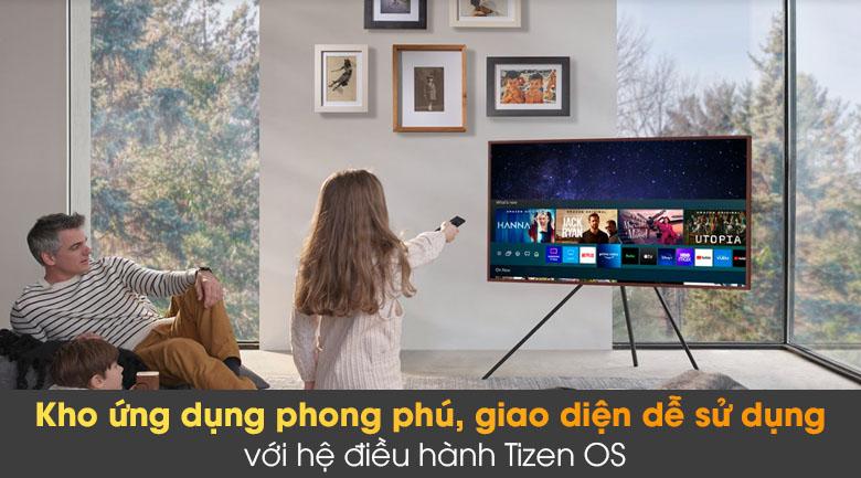 Tivi The Frame QLED 4K Samsung QA55LS03A - Tizen OS
