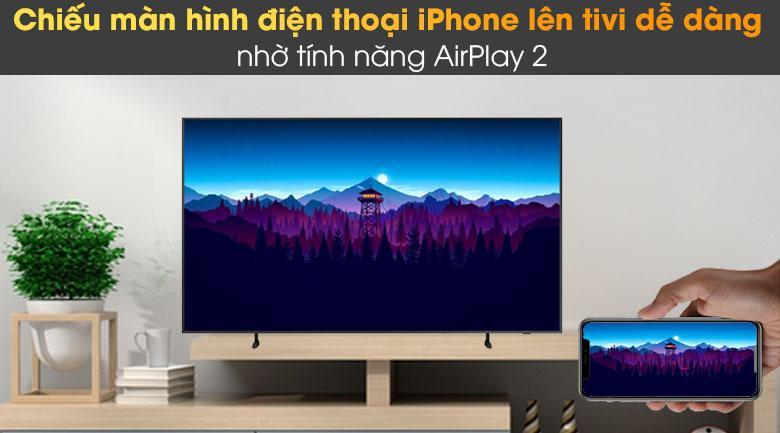 Tivi The Frame QLED 4K Samsung QA55LS03A - AirPlay2