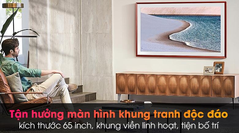 Smart Tivi Khung Tranh The Frame QLED Samsung 4K 65 inch QA65LS03A - Thiết kế