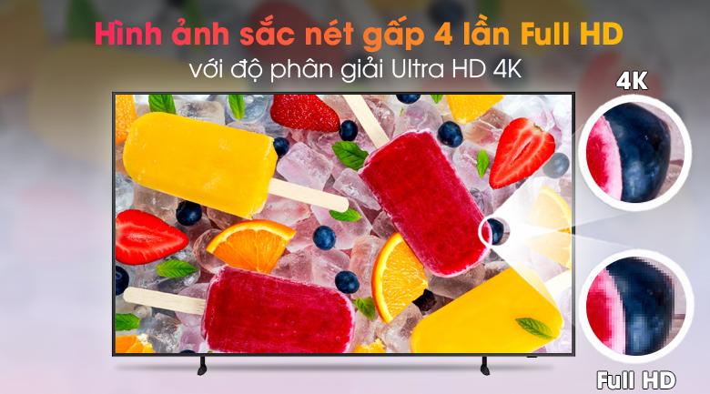 Smart Tivi Khung Tranh The Frame QLED Samsung 4K 65 inch QA65LS03A - Độ phân giải Ultra HD 4K
