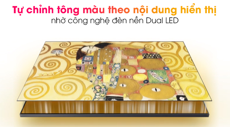 Smart Tivi Khung Tranh The Frame QLED Samsung 4K 65 inch QA65LS03A - Dual LED