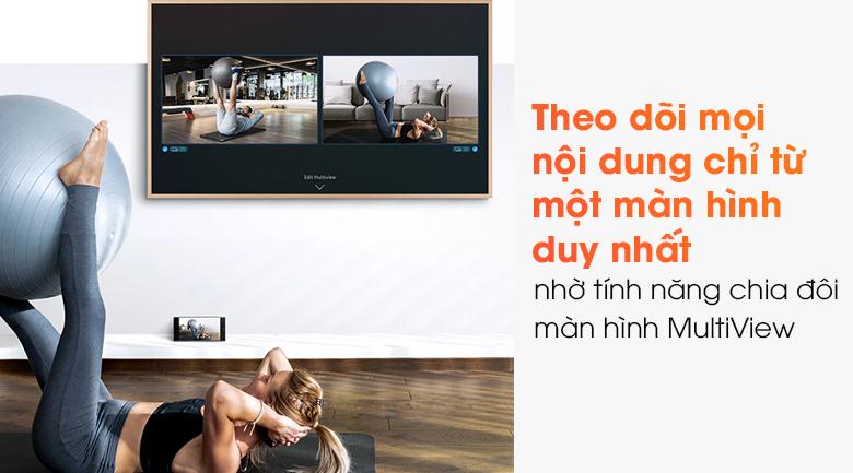 Smart Tivi Khung Tranh The Frame QLED Samsung 4K 65 inch QA65LS03A - Mutilview
