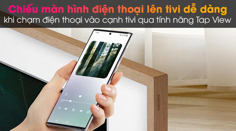 Smart Tivi Khung Tranh The Frame QLED Samsung 4K 65 inch QA65LS03A - Tap View