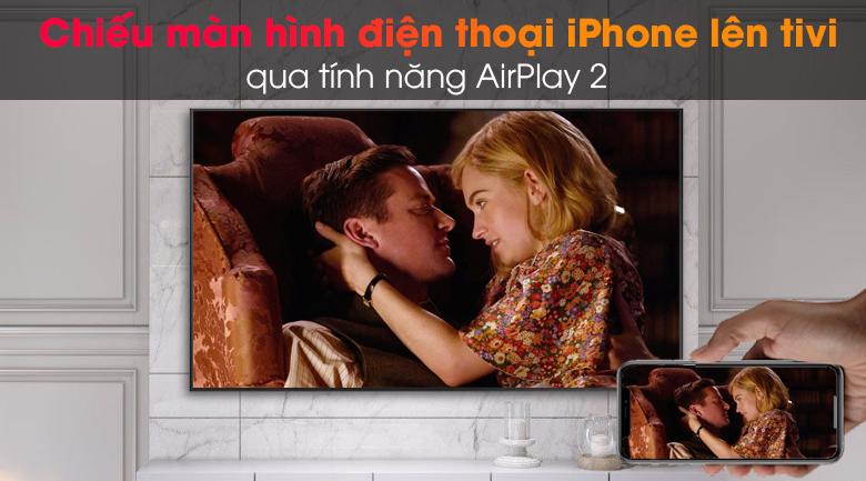 Smart Tivi Khung Tranh The Frame QLED Samsung 4K 65 inch QA65LS03A - AirPlay2