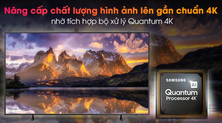 Smart Tivi Khung Tranh The Frame QLED Samsung 4K 65 inch QA65LS03A - Clip Quantum 4K