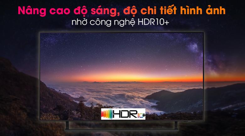 Smart Tivi Led Samsung 4K 43 inch UA43AU9000 - Thưởng thức hình ảnh chi tiết, rực rỡ qua công nghệ HDR10+